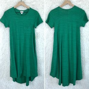 Green Carly Dress LulaRoe